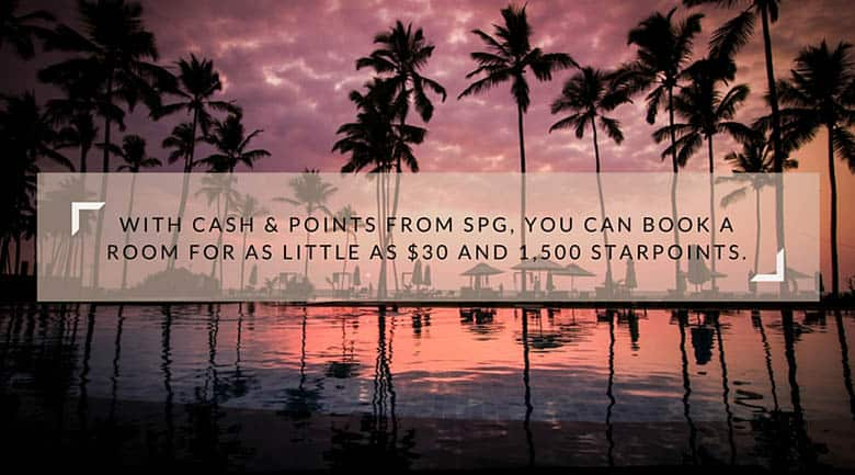SPG Cash & Points
