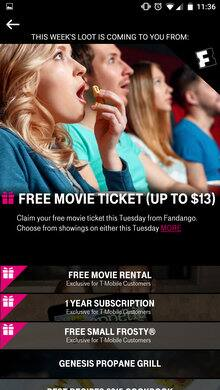 T-Mobile Tuesdays free loot