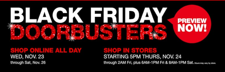 Macy's Black Friday Doorbusters