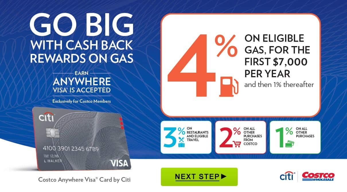 Costco Anywhere Visa Card