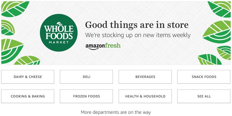 Whole Foods AmazonFresh