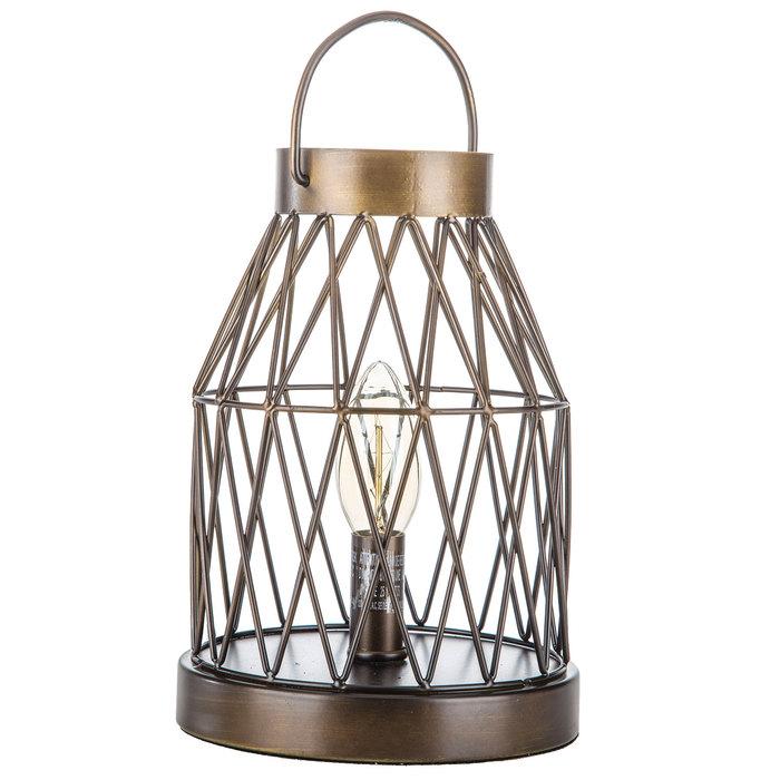 Bronze Metal Lantern Uplight
