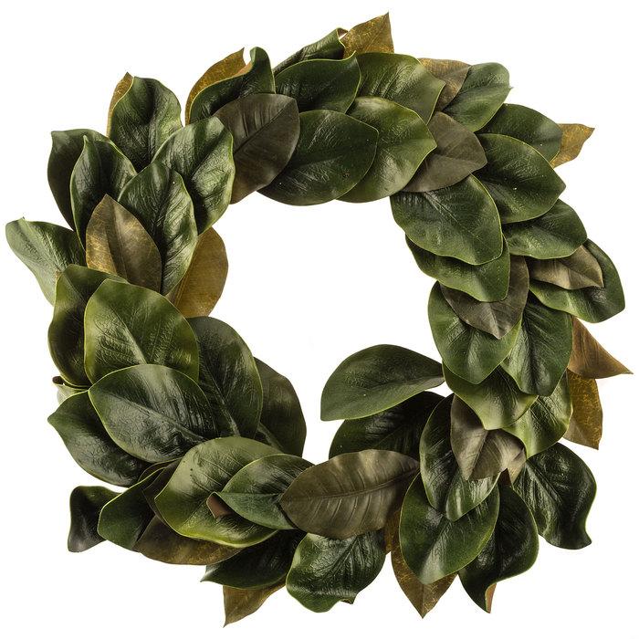 Magnolia Leaves EVA Polyester Wreath