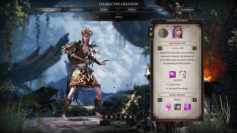 Divinity: Original Sin 2 Character Customization