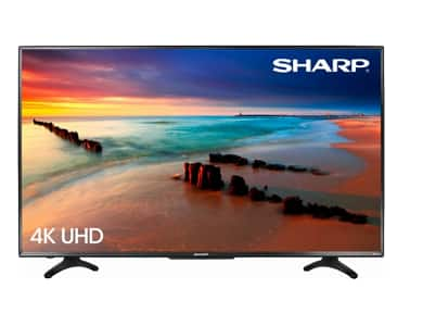 50 Sharp LC-50LBU591U 4k 2160p Smart Ultra HD Roku TV