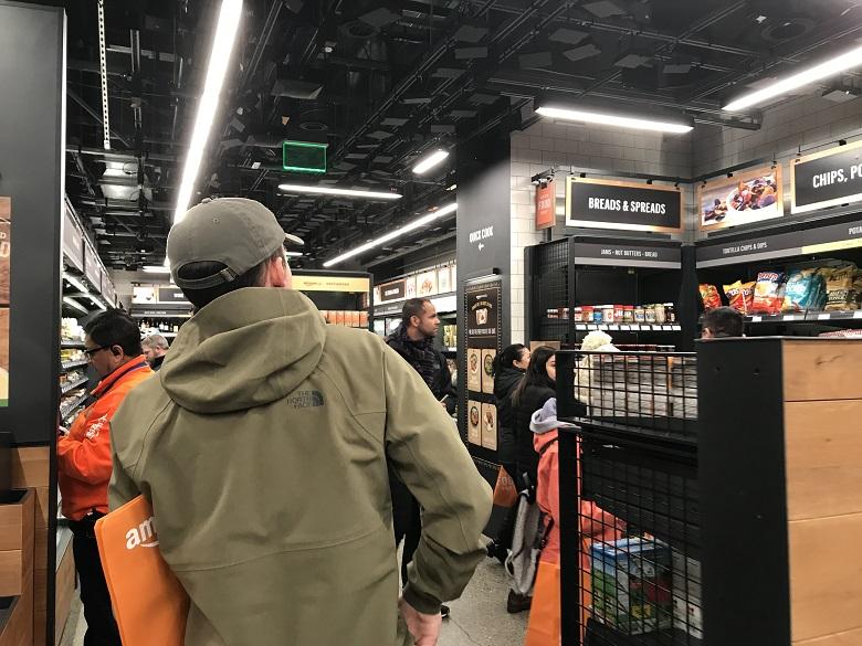 Amazon Go Inside