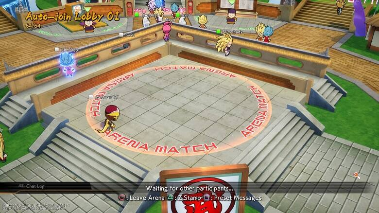 Dragon Ball FighterZ Lobby