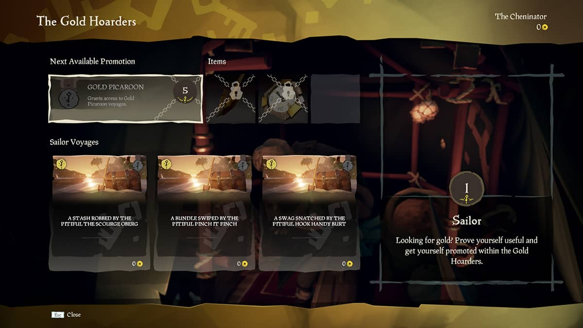 Sea of Thieves Gold Hoarders faction