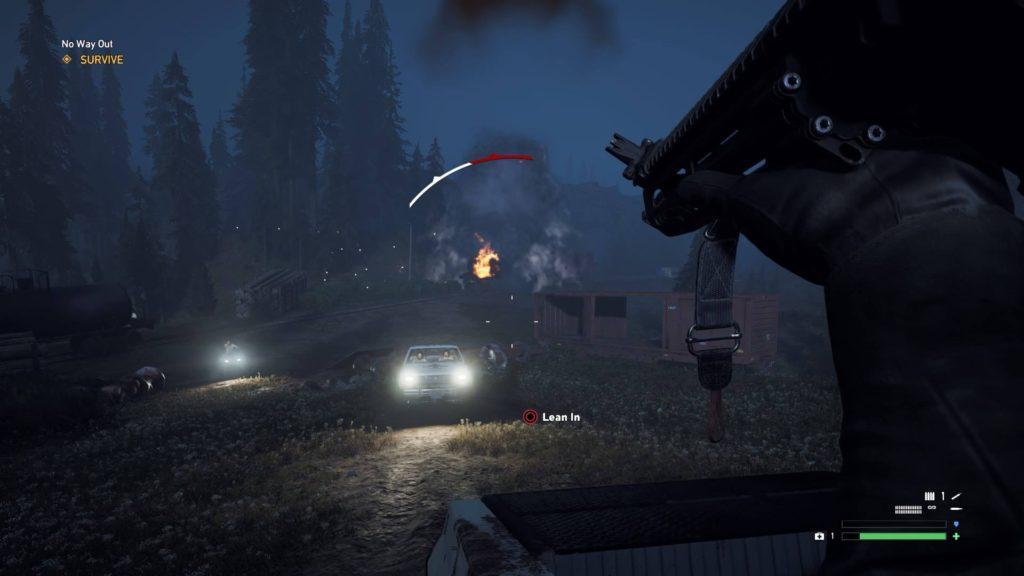 Far Cry 5 - Car Sequence
