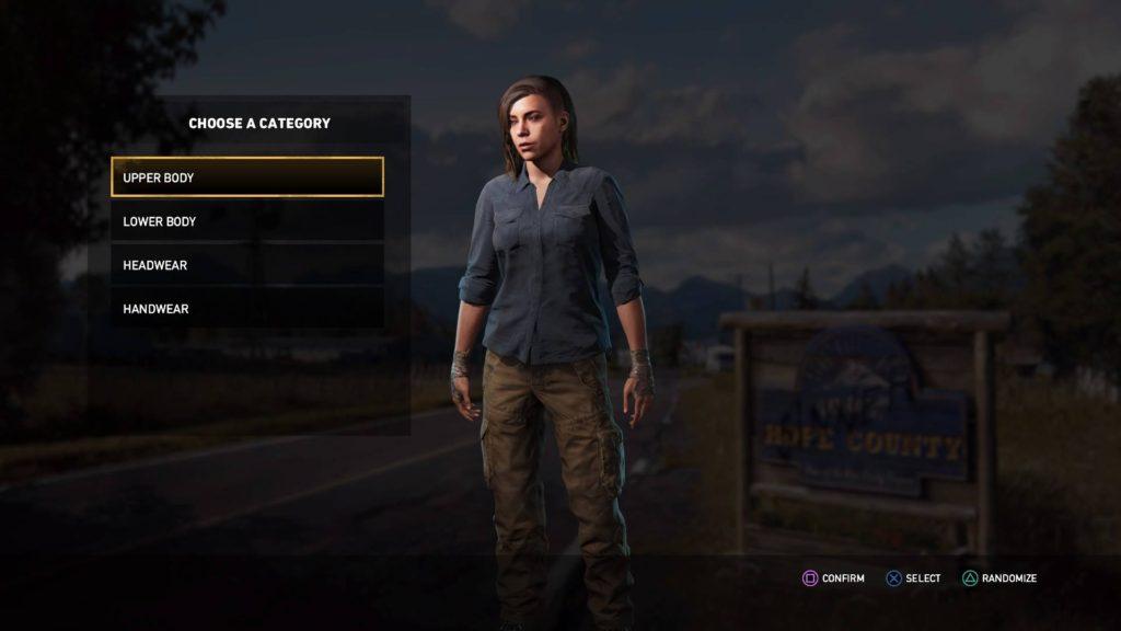 Far Cry 5 - Character Customization