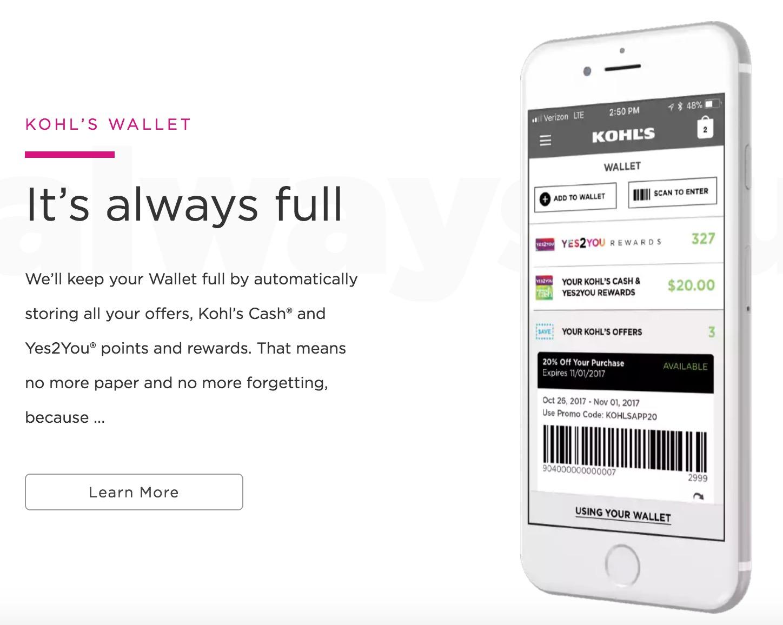 Kohl's Wallet