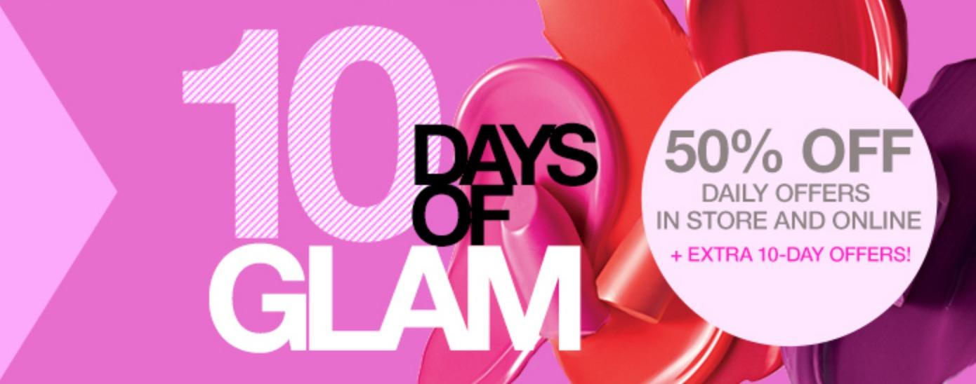 Macy's 10 Days of Glam