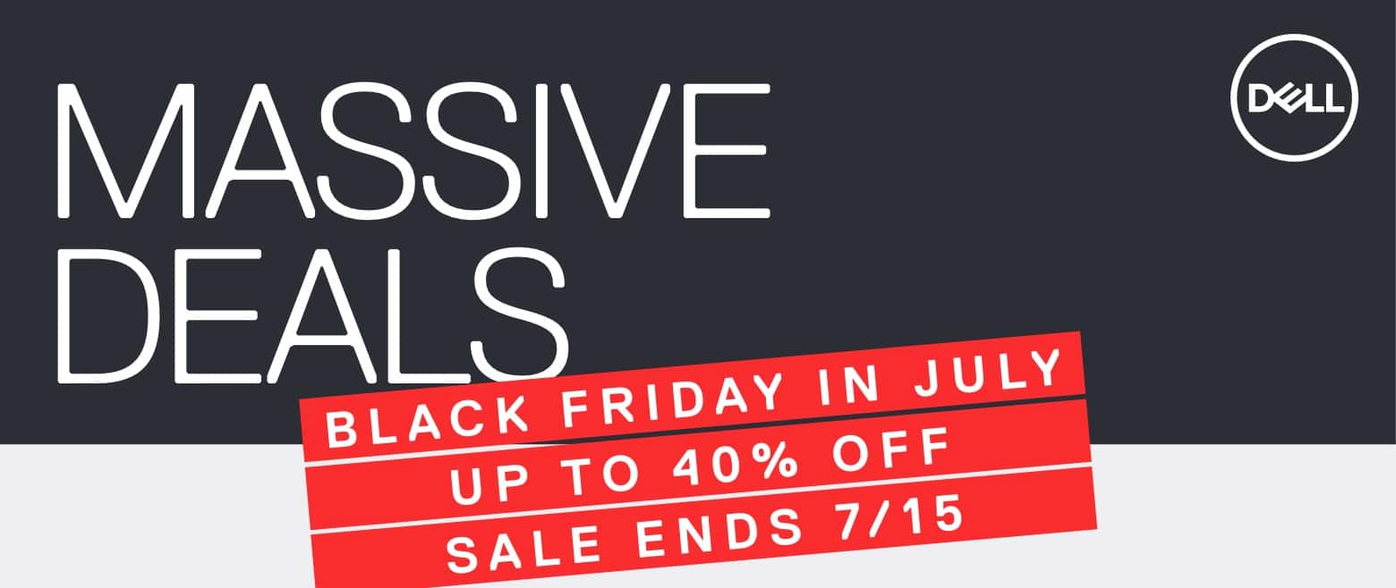 Dell's Black Friday in July