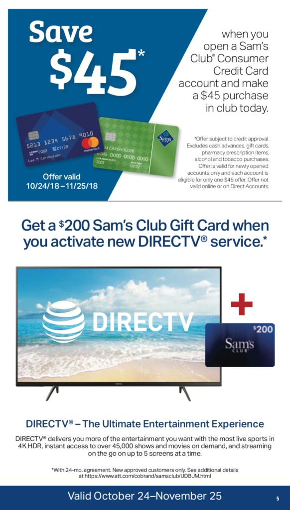 Sam's club instant savings book