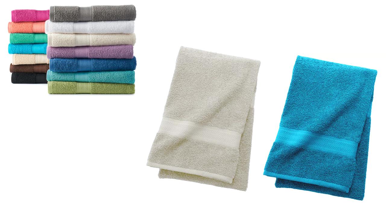 Kohls The Big One Bath Towels