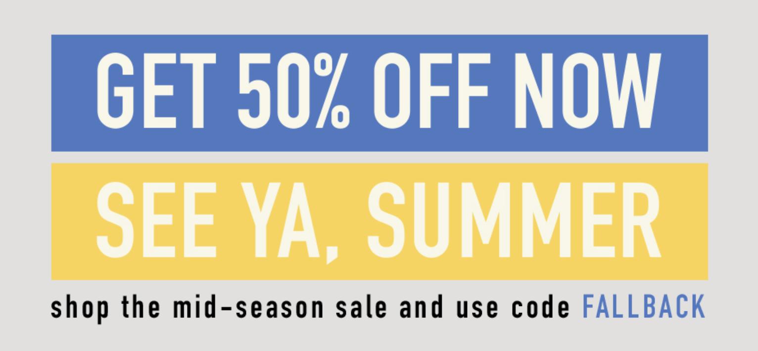 Reebok Mid-Season Sale