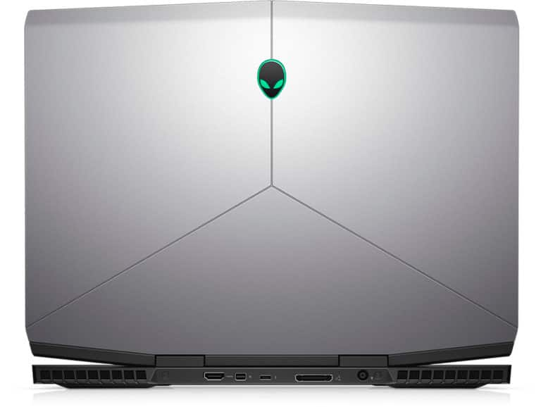 Alienware m15 gaming laptop front space grey