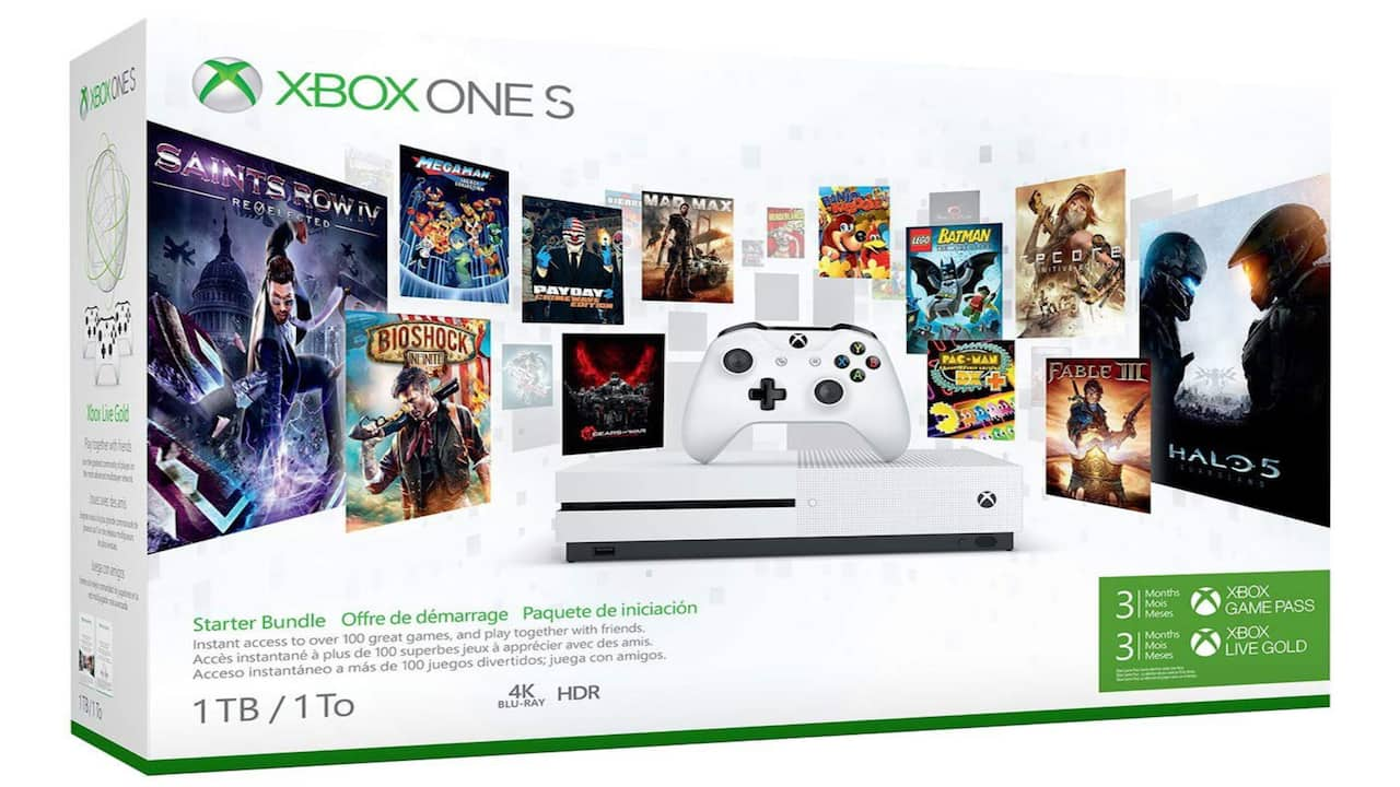 Black Friday Video Game Deals: Xbox One S
