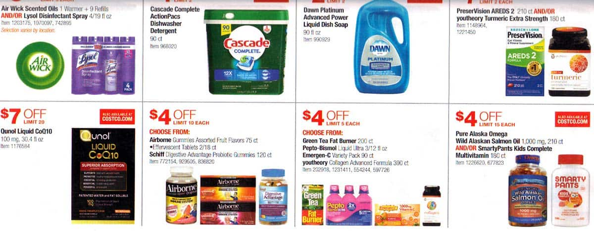 Costco January 2019 Coupon Book and Best Deals of the Month