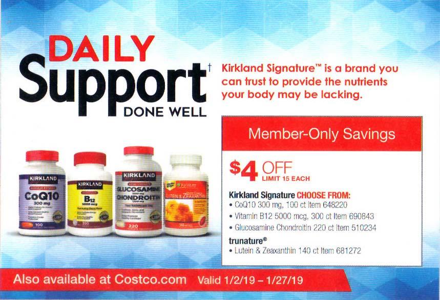 costco membership deals january 2019