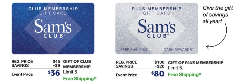 Sam's Club One-Day Sale
