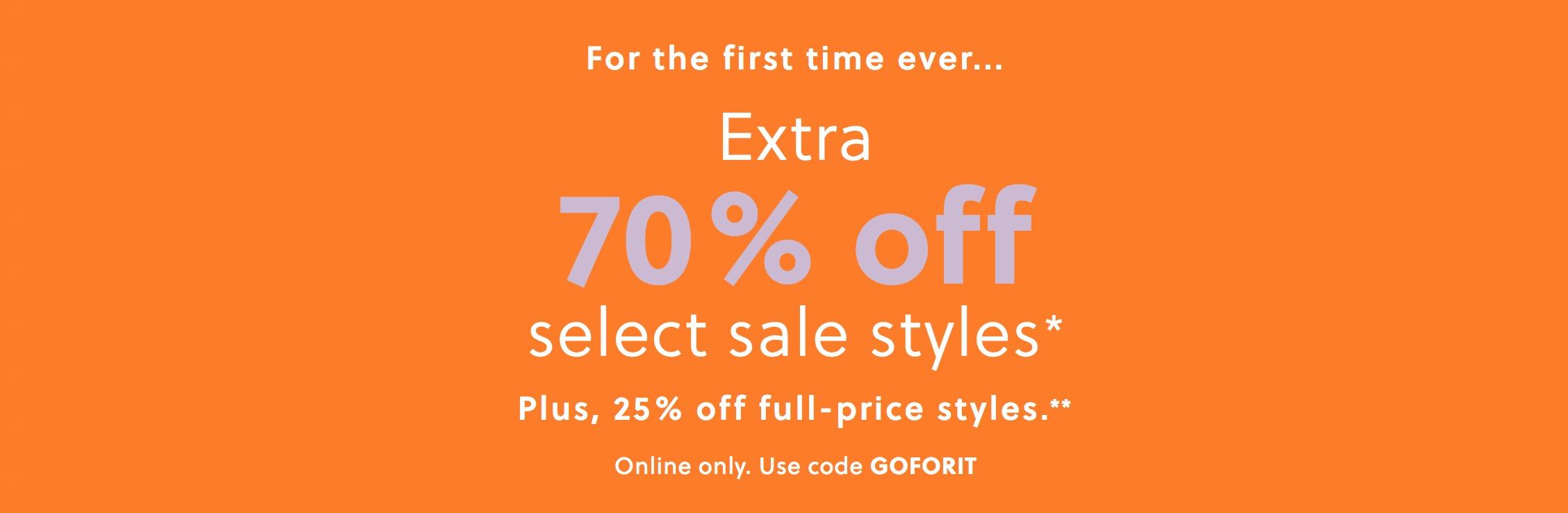 70% Off J.Crew Sale