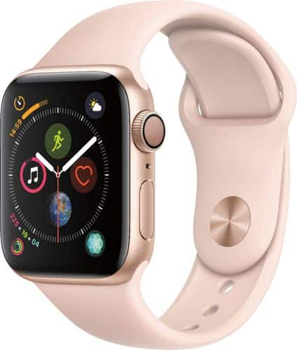 rose gold apple watch series 4
