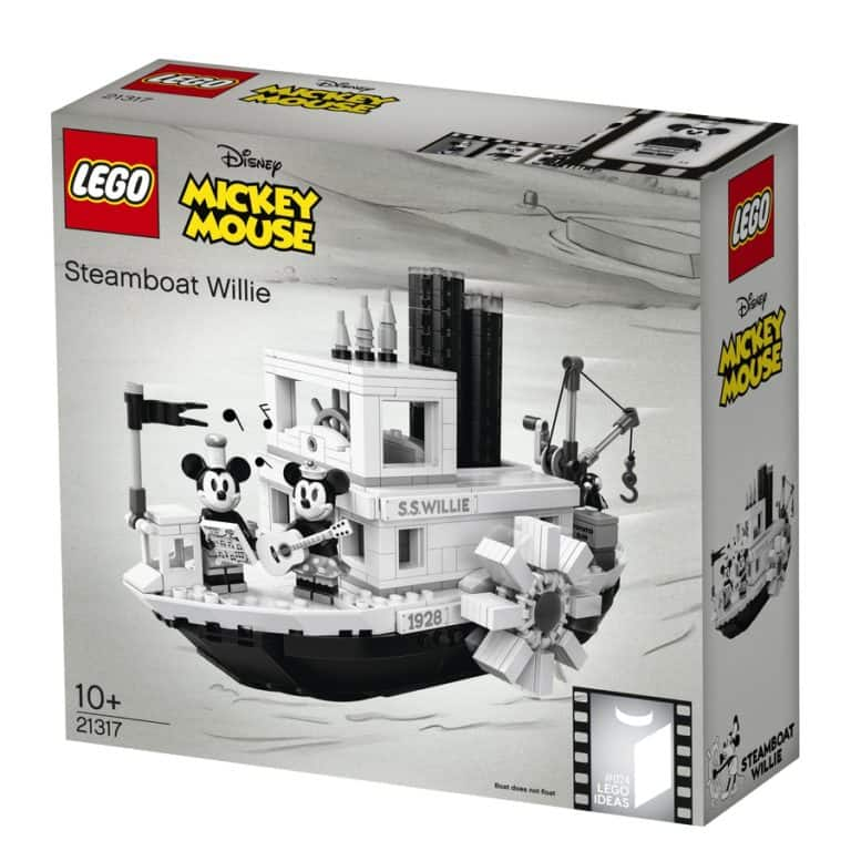 LEGO Steamboat Willie box front