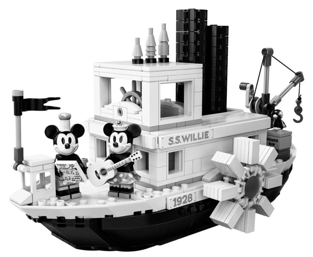 LEGO steamboat willie full