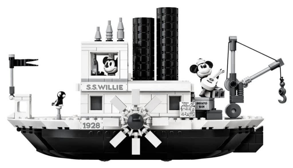 LEGO steamboat willie side