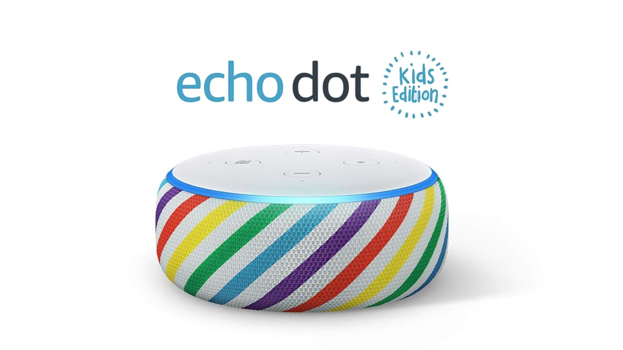 Introducing the new and improved Echo Dot Kids Edition.