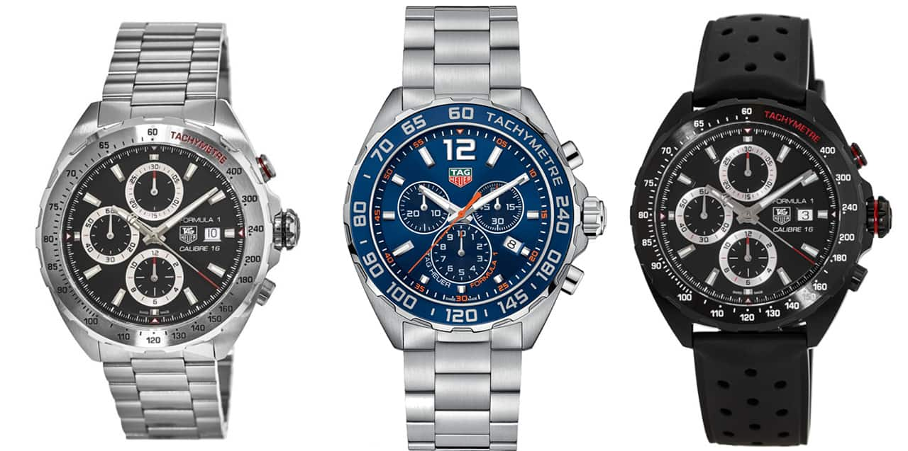 Great deals on Tag Heuer watches.