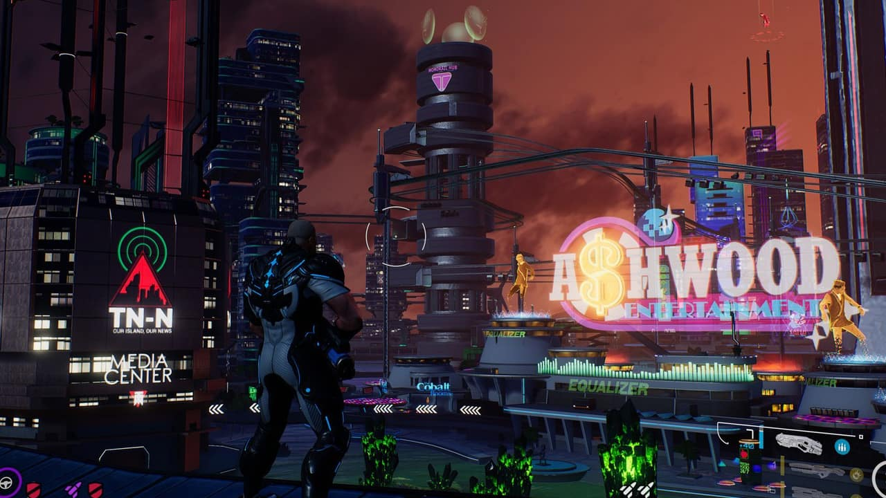 Crackdown 3 is beautiful