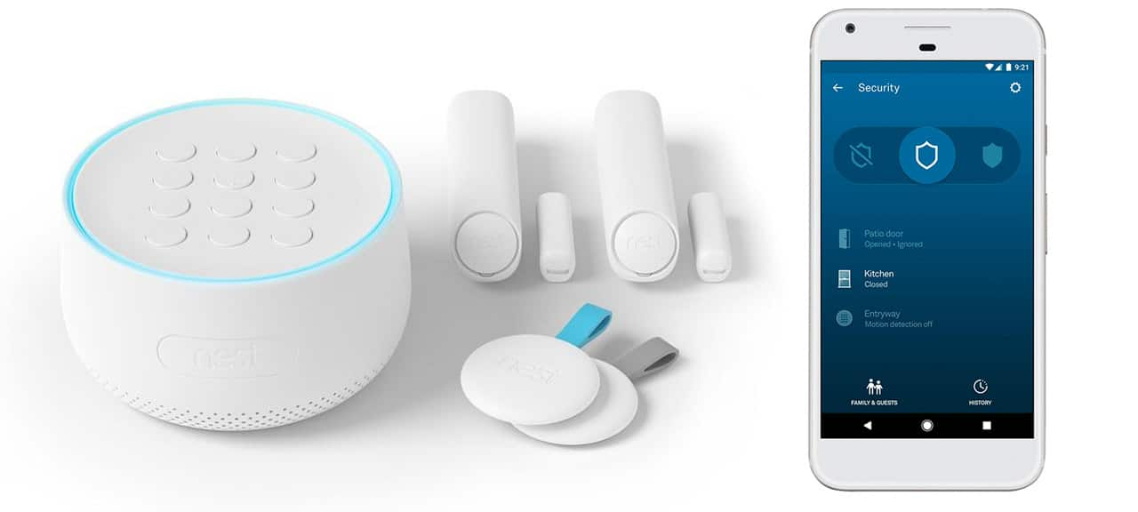 Save $100 on the Nest security system at Best Buy