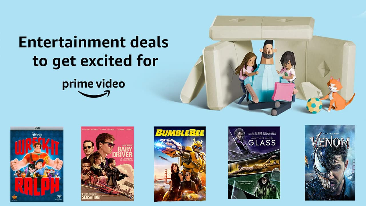 This Prime Day, save on new movie releases.