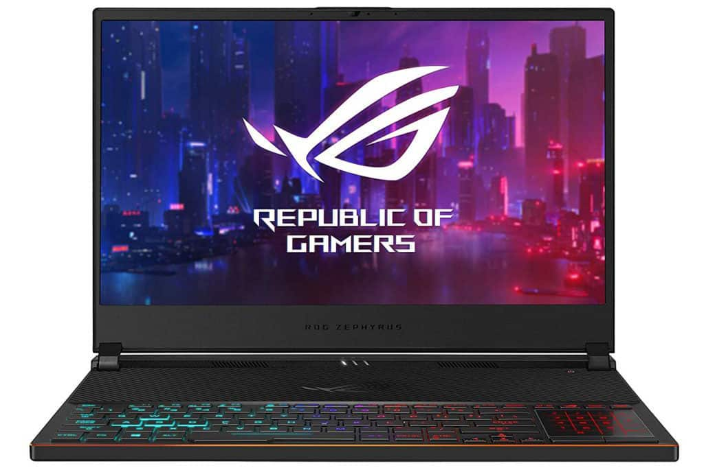 ASUS ROG Zephyrus S Ultra Slim Gaming Laptop Specs and Description