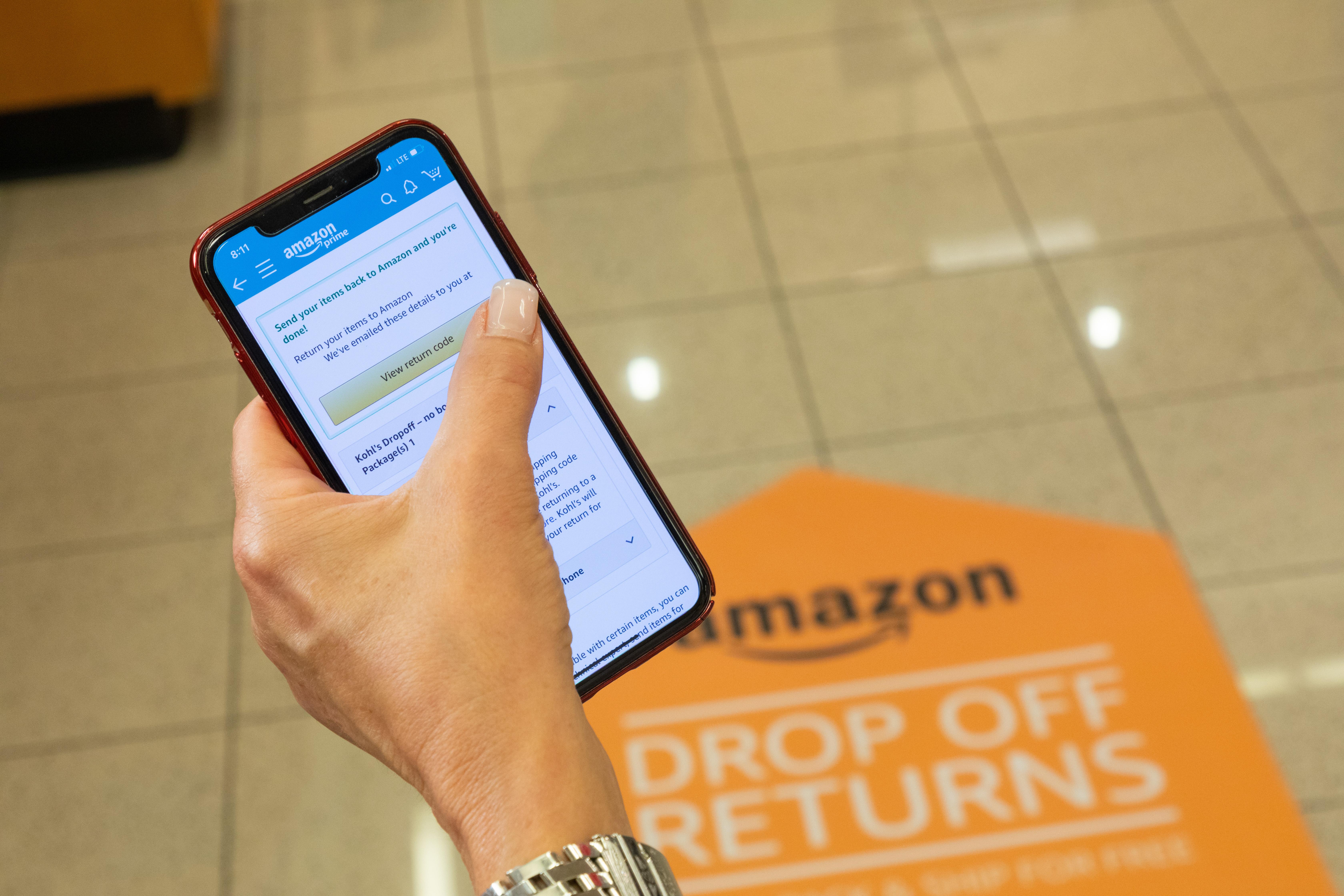 Amazon Kohl's Returns