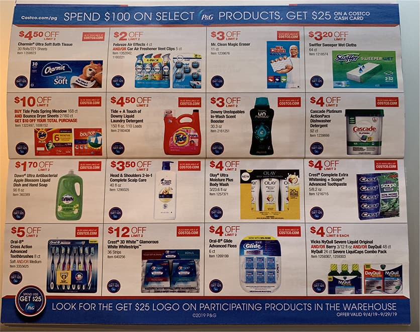 costco new coupon book september 2019