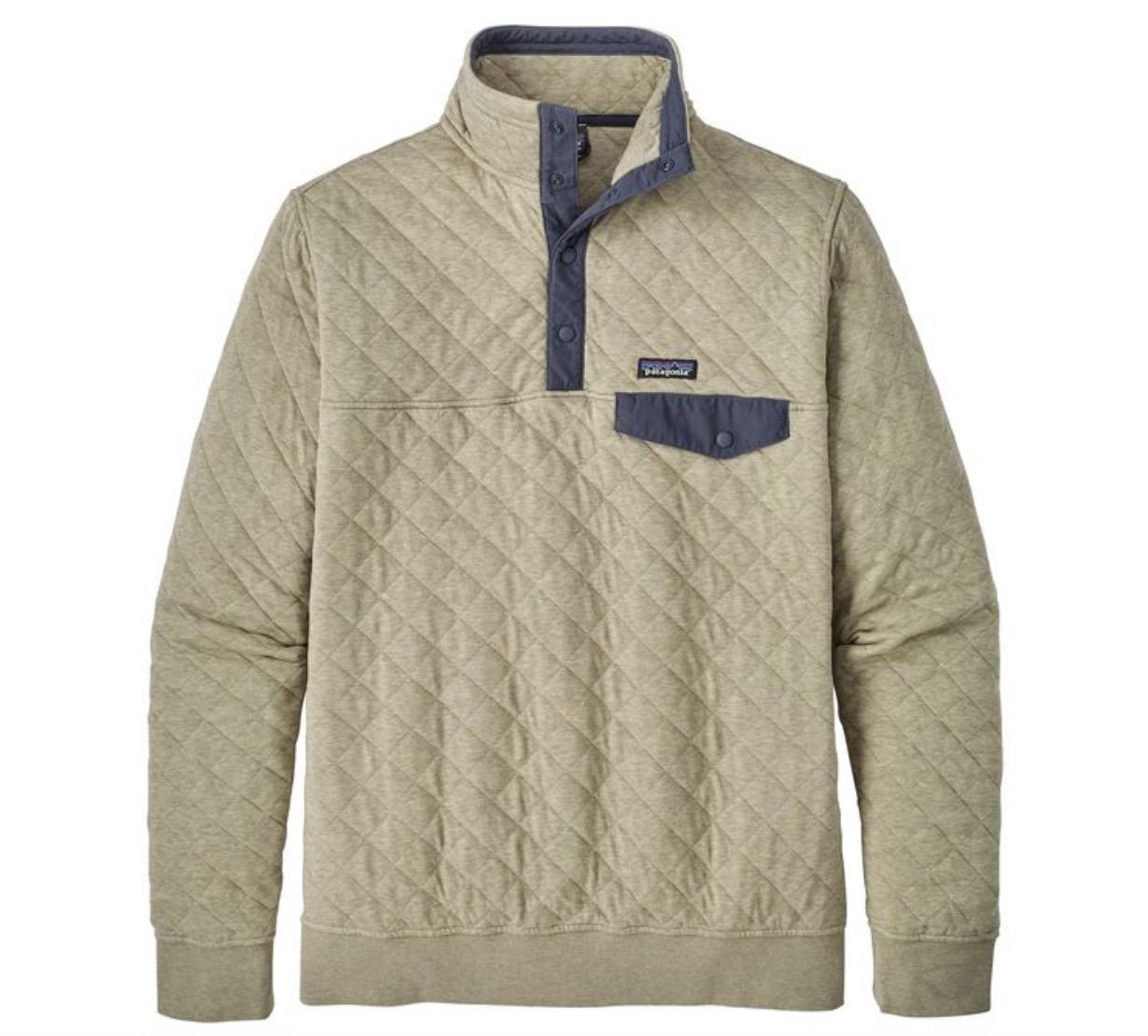 Patagonia Men's Organic Cotton Quilt Snap-T® Pullover