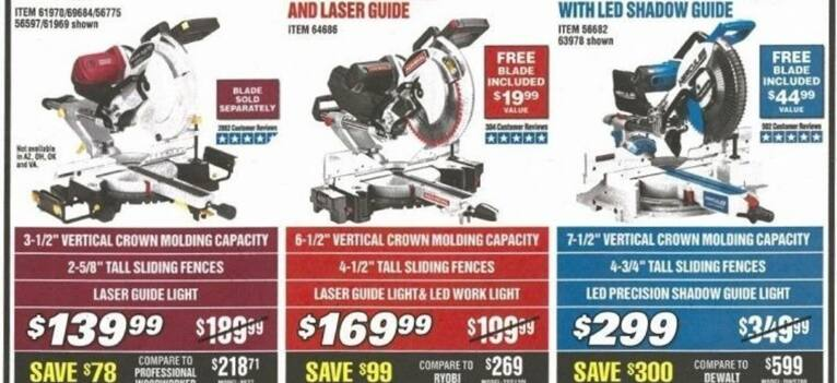 2019 Harbor Freight Black Friday Deals, Sale, Hours & Ad