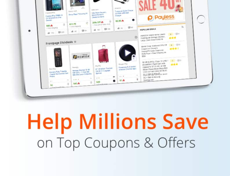 Slickdeals: The Best Deals, Coupons, Promo Codes & Discounts