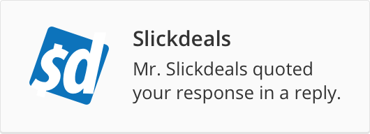 Slickdeals Mobile App for iPhone and Android - Slickdeals.net
