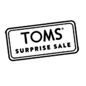 TOMS Surprise Sale Logo